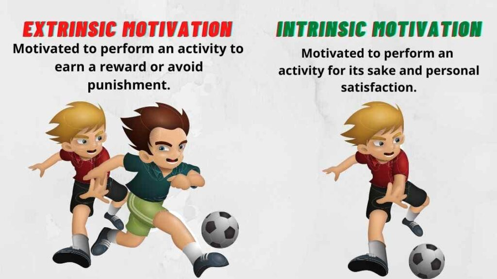 Motivational Speech Types-Intrinsic Motivation and Extrinsic Motivation