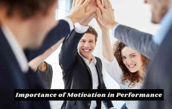 Importance of Motivation in Performance