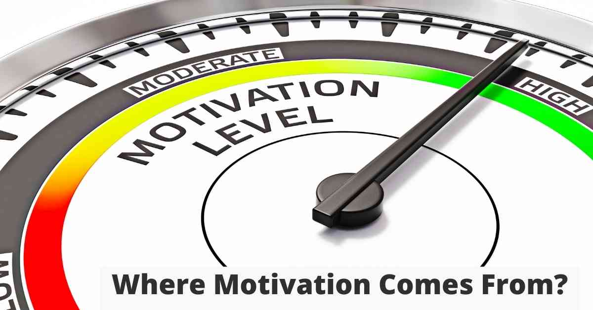 Where Motivation Comes From - Source of Motivation