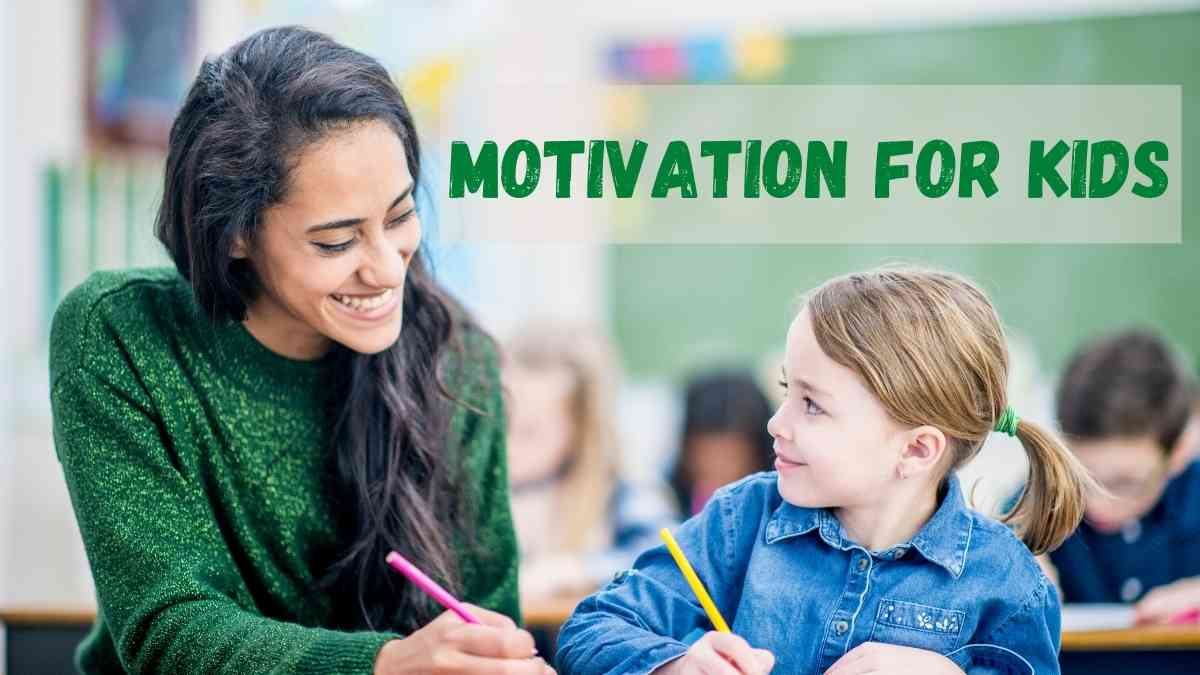 Motivational Speech For Kids