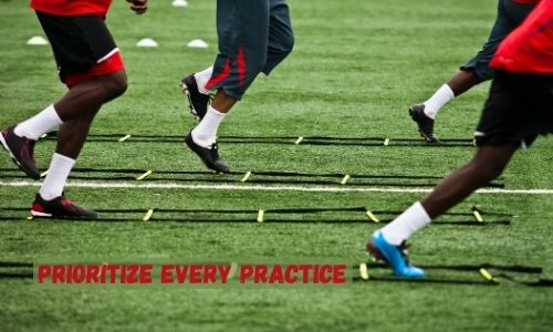 Prioritize every practice - Sports Motivational Speeches for Athletes