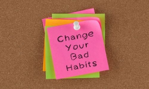 Examine your habits - How to overcome low self-esteem?