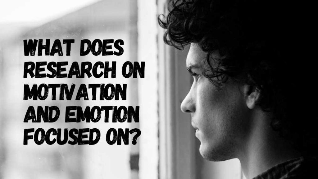 Difference Between Motivation And Emotion In Psychology